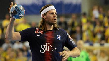 Mecz PGE Vive Kielce - PSG. Mikkel Hansen