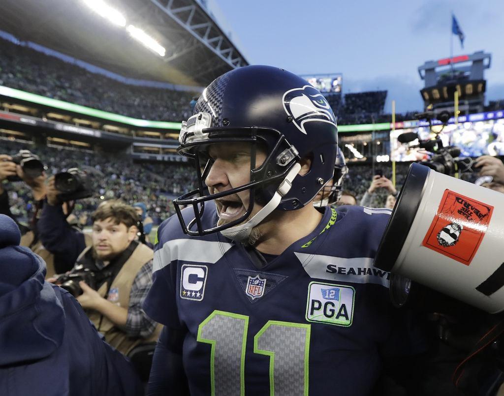 Sebastian Janikowski po meczu ligi NFL Seattle Seahawks - Arizona Cardinals, 30.12.2018