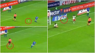 Skandal w lidze meksykańskiej po tym, jak sędzia 'zabrał' gola na 3:0 w meczu Cruz Azul - Toluca