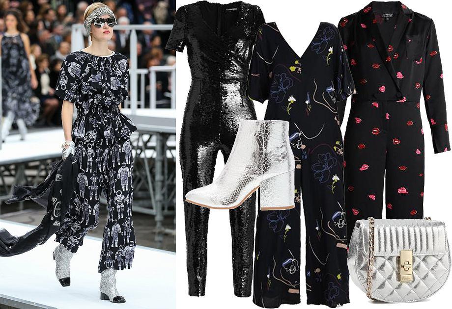 Imprezowa stylizacja inspirowana Chanel