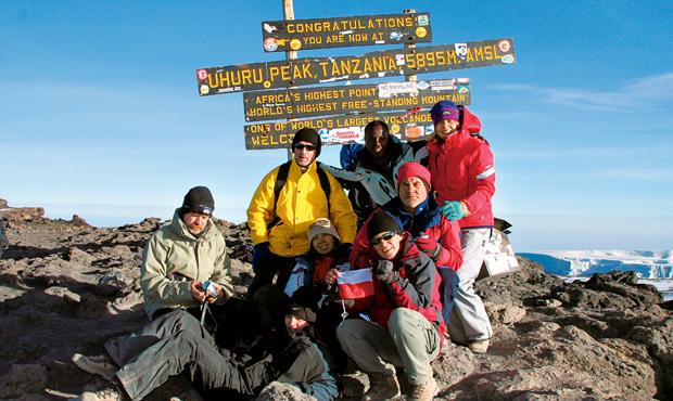 Podróże - jak zdobyć Kilimandżaro, podróże, afryka, Hurra! Szczyt zdobyty!