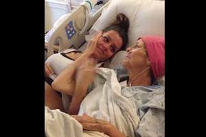 Umierająca kobieta poznaje płeć swojego wnuka [WZRUSZAJĄCE WIDEO]