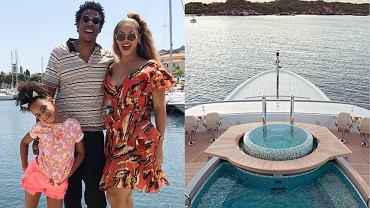 Beyonce, Jay-Z i Blue Ivy na wczasach
