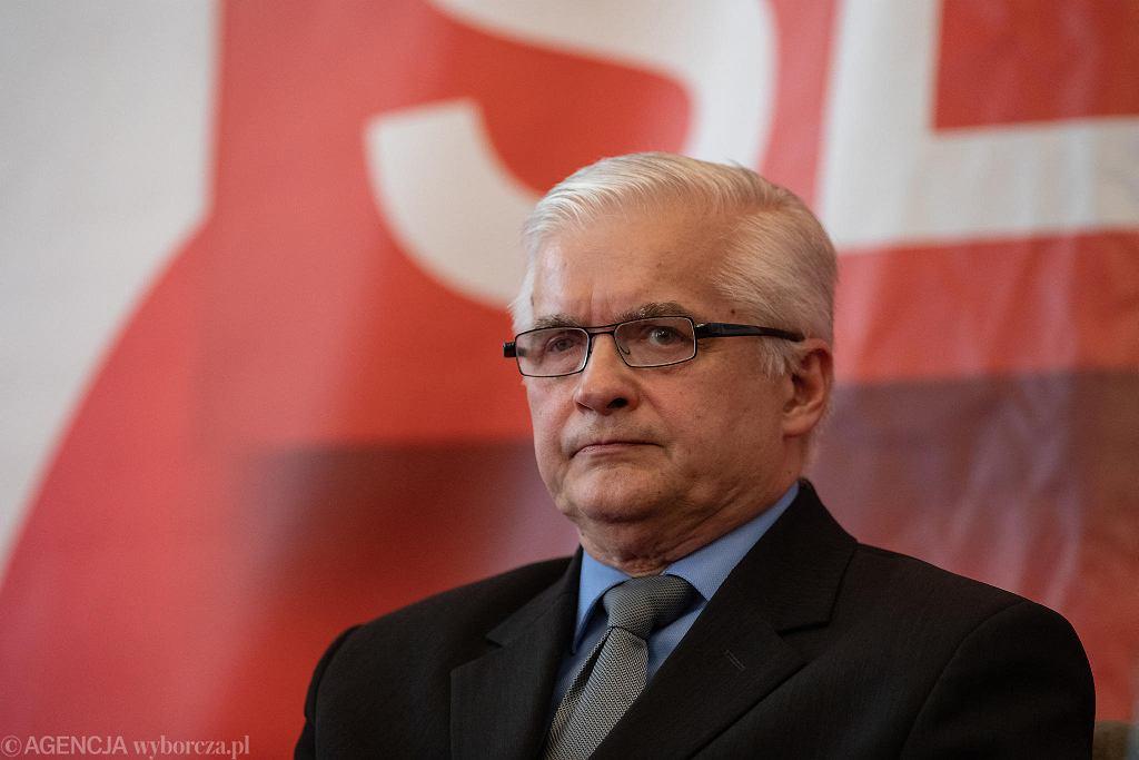 Wybory do europarlamentu 2019. Były premier Włodzimierz Cimoszewicz