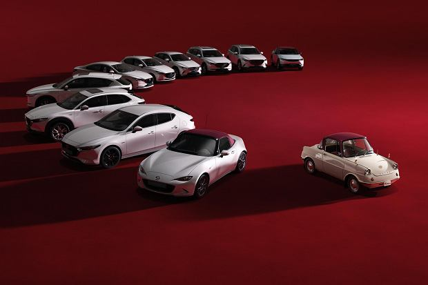 Mazda 100th Anniversary - limitowane modele z okazji 100 rocznicy
