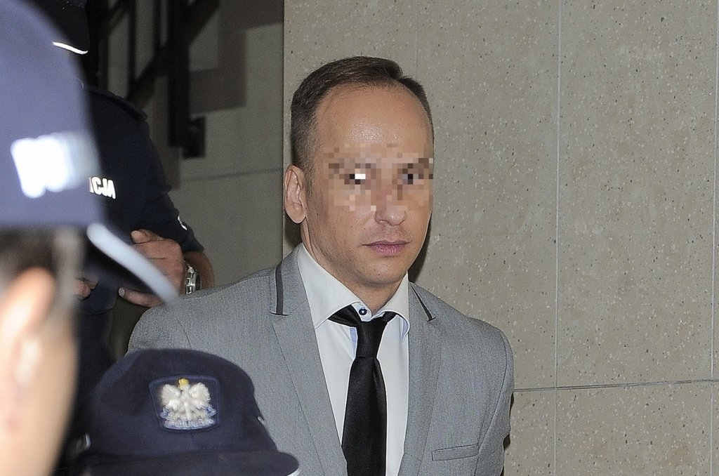 Dariusz K. w sądzie