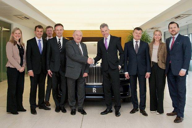 Rolls-Royce oficjalnie w Polsce