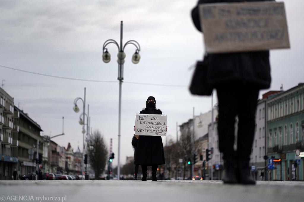 Kobiety podczas protestu
