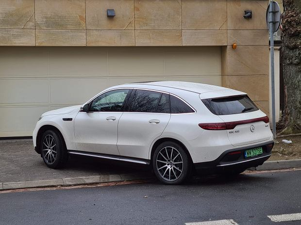Mercedes EQC 400 Sport 4MATIC