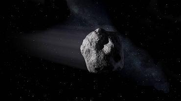 Tak może wyglądać asteroida