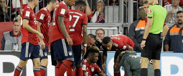Bayern Monachium w tarapatach. Kontuzja gwiazdy. Groził, że zakończy karierę