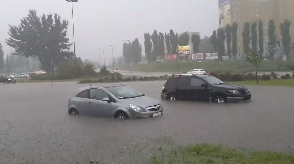 Ulewy w Gorzowie Wielkopolskim