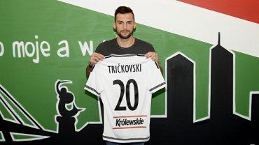 Ivan Trickovski piłkarzem Legii