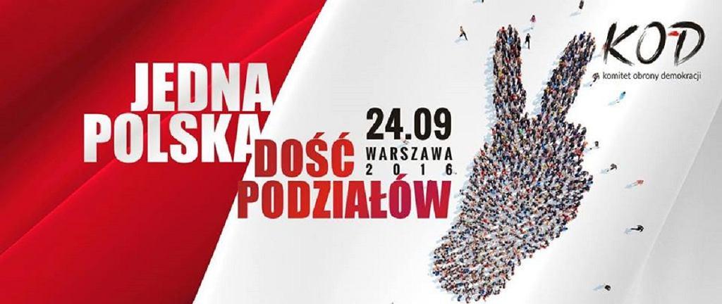 Marsz Komitetu Obrony Demokracji