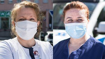 Pielęgniarki z Radomskiego Szpitala Specjalistycznego Dorota Szczepanowska i Urszula Wierzbicka