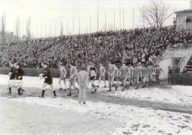 Marzec 1983. Mecz Lublinianki z Motorem na Wieniawie. Motor wygrał 1:0 i trzy miesiące później po raz drugi wszedł do ekstraklasy. Na trybunach ponad 10 tys. ludzi