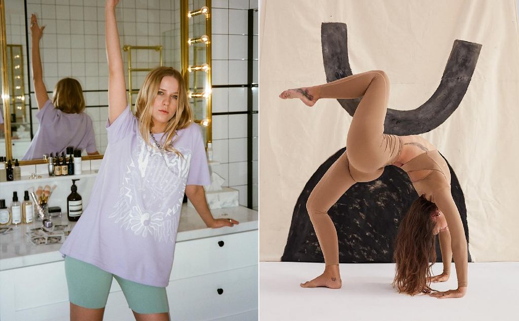 Jessica Mercedes w Veclaim / Legginsy Lemiss
