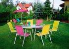 Meble ogrodowe: zestaw dla wielu