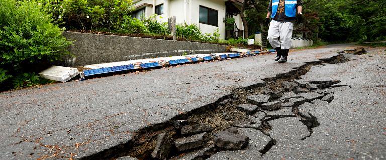 Japonia. Trzęsienie ziemi o magnitudzie 6,8 pozbawiło 9 tys. domów prądu