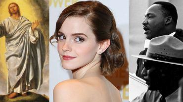 Jezus, Emma Watson, Martin Luther