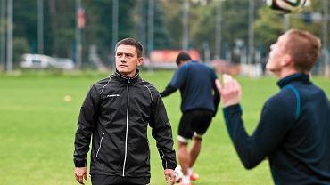 Pierwszy trening Zawiszy prowadzony przez Mariusza Rumaka