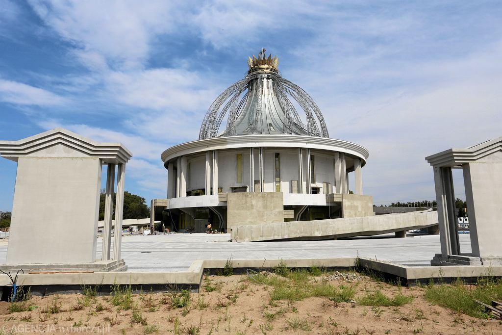 Budowa kościoła w Toruniu