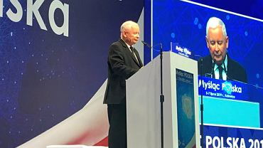 Jarosław Kaczyński podsumowuje konwencję PiS w Katowicach