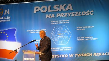 Konwencja wyborcza Koalicji Obywatelskiej, Gorzów Wlkp., 23 września 2018. Grzegorz Schetyna