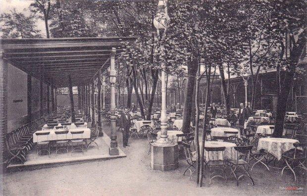 Zdjęcie numer 20 w galerii - Ogródki restauracyjne pierwsze tej wiosny i te przedwojenne [ARCHIWALNE ZDJĘCIA]