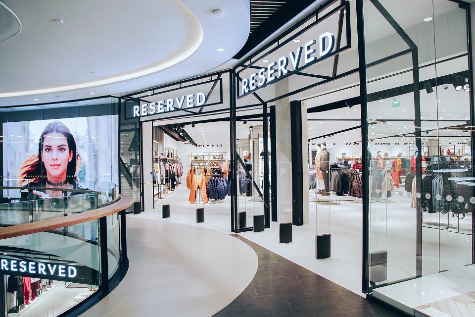 Jeden z fińskich sklepów Reserved, marki należącej do LPP