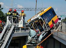 Po wypadku autobusu na S8 GDDKiA monitoruje trasę kilka razy dziennie. Będzie tam odcinkowy pomiar prędkości