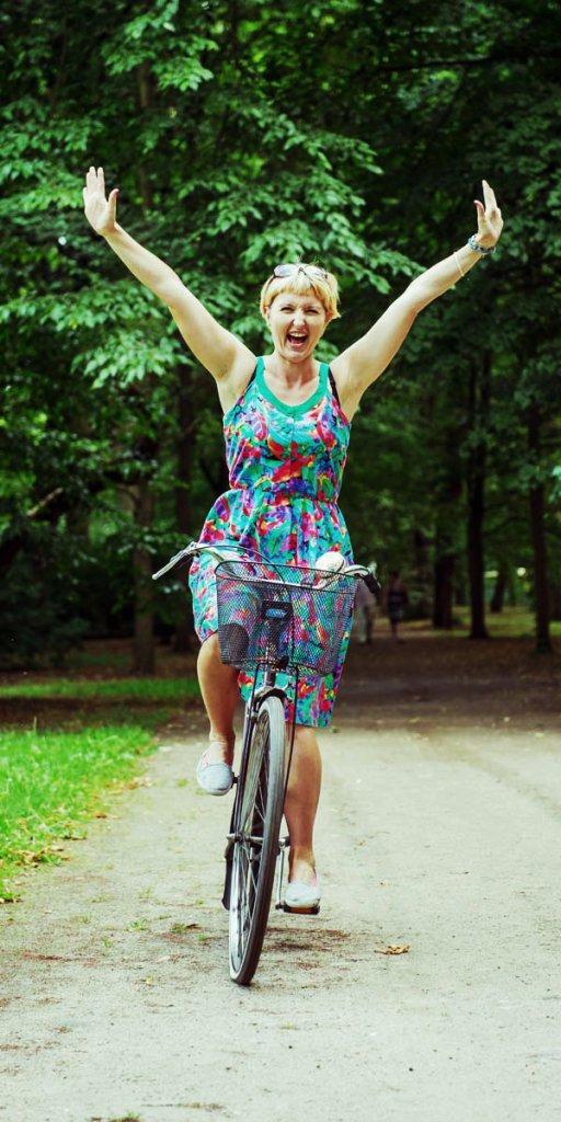 Katarzyna Zwolak, podróżniczka i rowerzystka, autorka bloga girlonbike.co