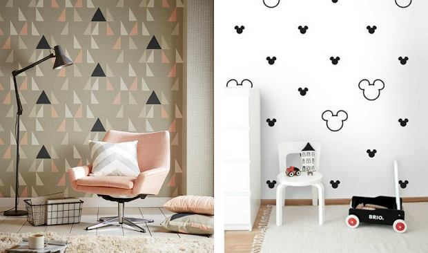 Skandynawskie wzory na tapetach