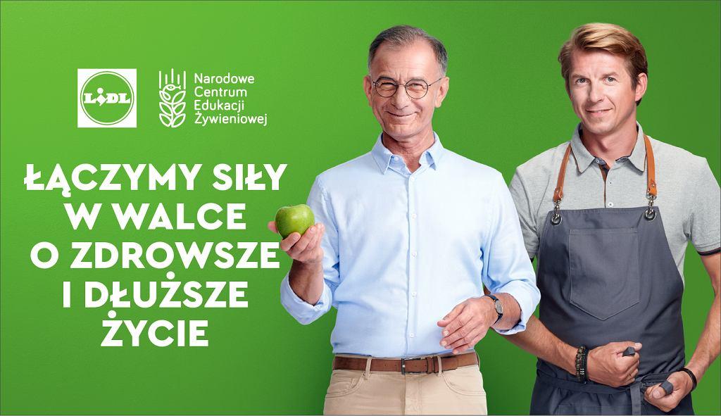 Lidl i NCEŻ łączą siły w walce o dłuższe i zdrowsze życie Polaków