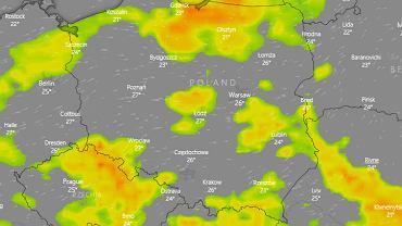 Gdzie jest burza? IMGW ostrzega przed deszczem i gradem