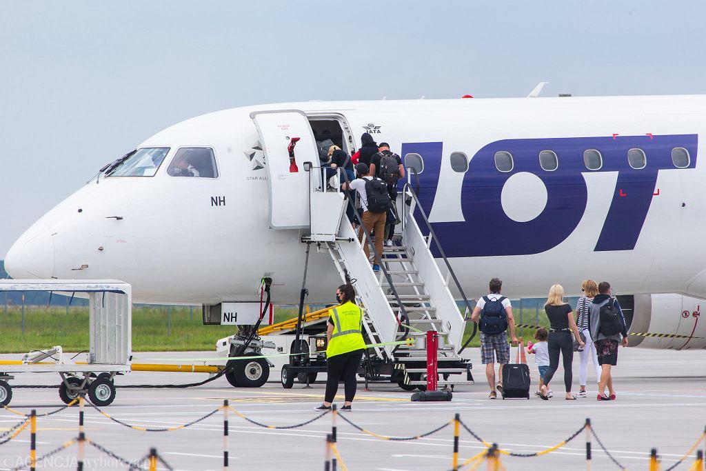 Pierwszy w wakacje 2020 r. lot z Bydgoszczy na Zakynthos