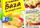 Jeden produkt a tyle możliwości - nowa Kremowa baza do jasnych sosów WINIARY!