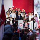 Andrzej Duda w Pułtusku świętuje sondażowe zwycięstwo. ''Zapraszam Trzaskowskiego do Pałacu''