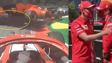 Katastrofa Ferrari podczas GP Styrii