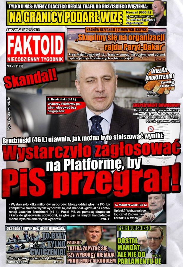 Faktoid, 28 maja 2014, nr 22 (176) -  - Gazeta.pl