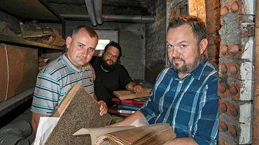 Od lewej: Michał Lakwa, Andrzej Godoj i Grzegorz Joszko