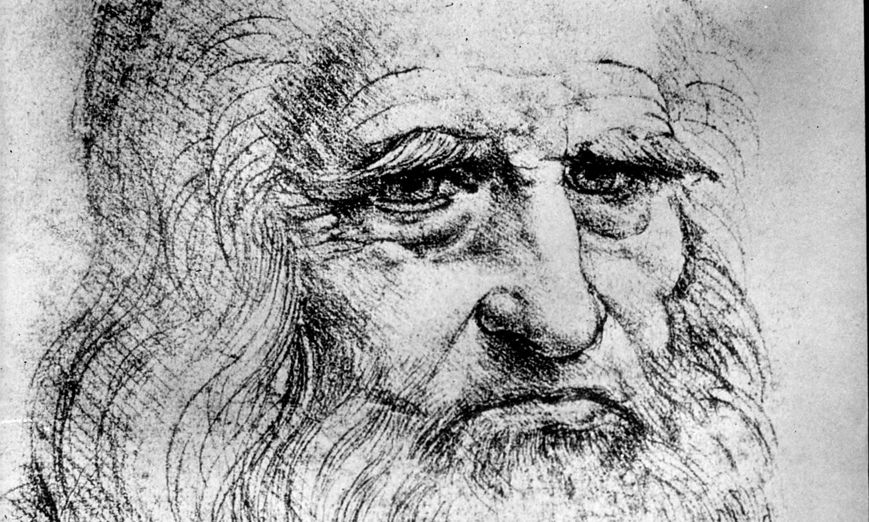 Leonardo da Vinci. Autoportret (fot. domena publiczna)