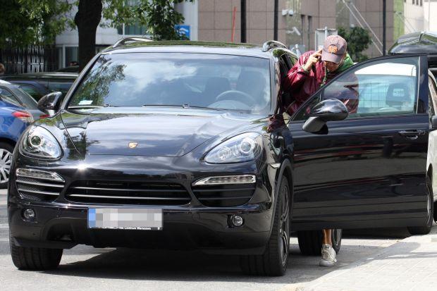 2012.06.31 Warszawa  Kuba Wojewodzki Porsche Cayenne  FOT TERENT / AF EOS