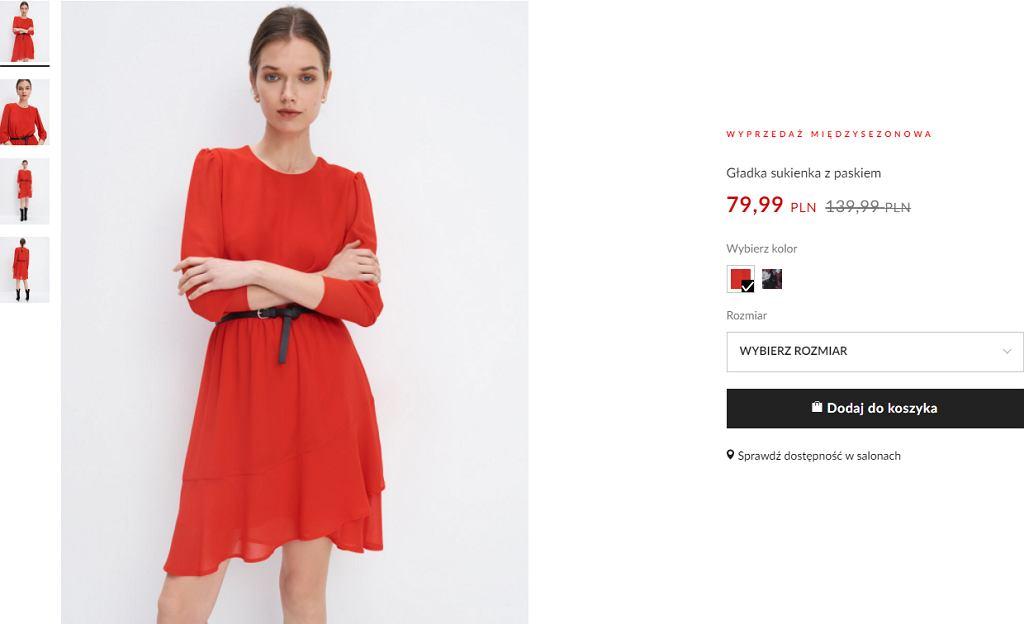 sukienka koktajlowa Mohito
