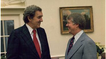 Edmund Muskie i Jimmy Carter