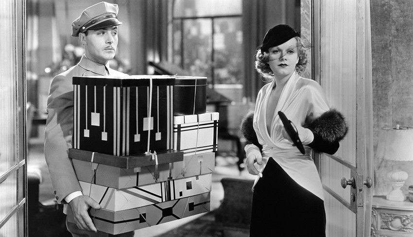 Jean Harlow w filmie 'Red-Headed'