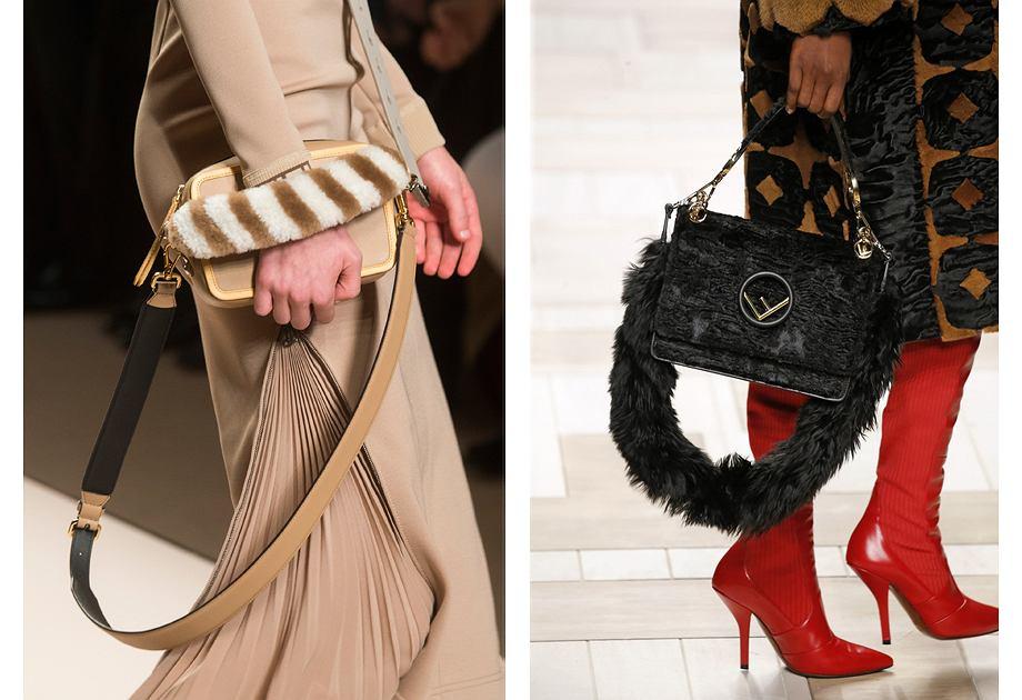 Futrzane torebki od kilku sezonów lansowane są przez włoską markę Fendi