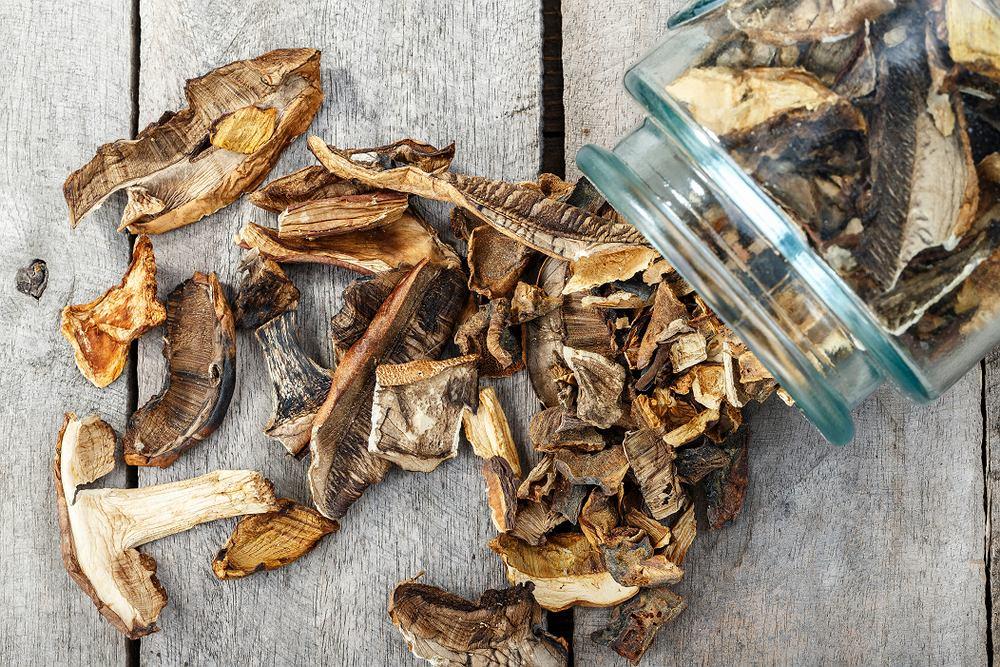 Suszenie grzybów pozwala na długo zachować ich pyszny smak i cieszyć się nimi nawet kilka miesięcy po grzybobraniu.