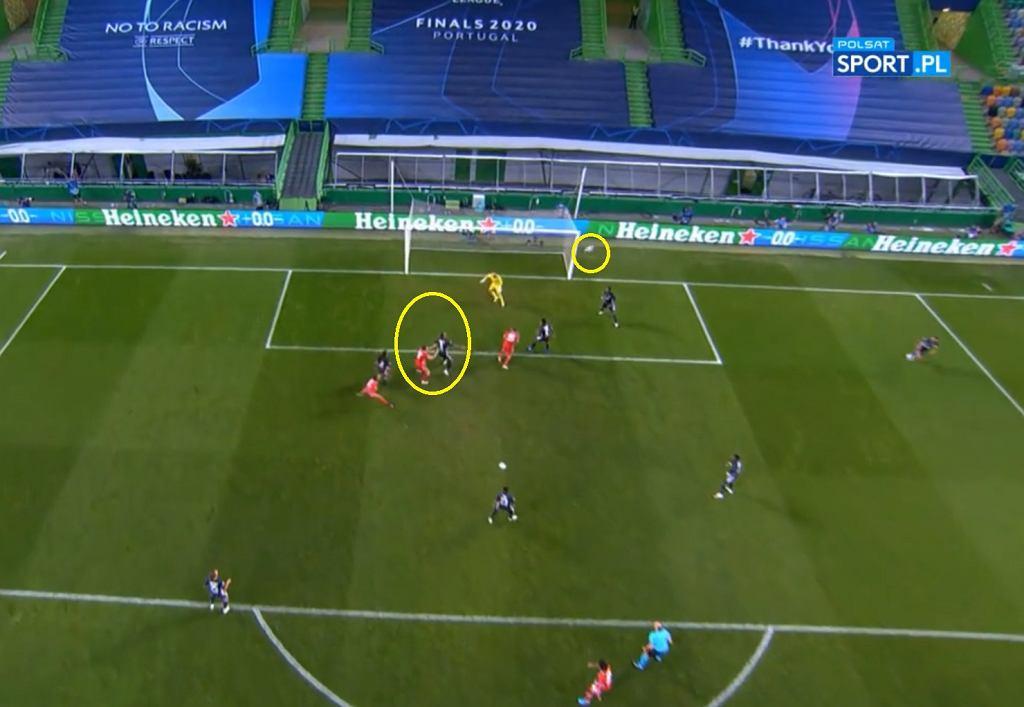 Lewandowski strzelił gola w 1/2 finału LM