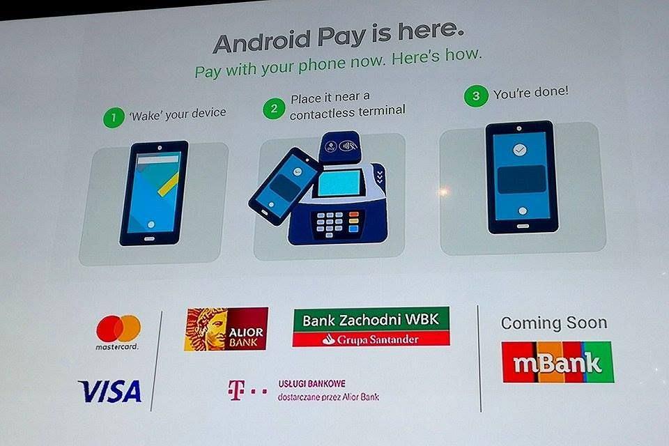 Android Pay debiutuje w Polsce